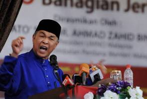 Ahmad Zahid: Defend UMNO's home, don't let anyone destroy it