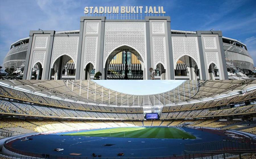 Wow, cantiknya wajah baharu Stadium Nasional Bukit Jalil!