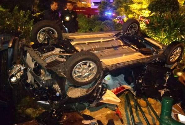 Dua terbunuh kereta terjunam di Genting Highlands