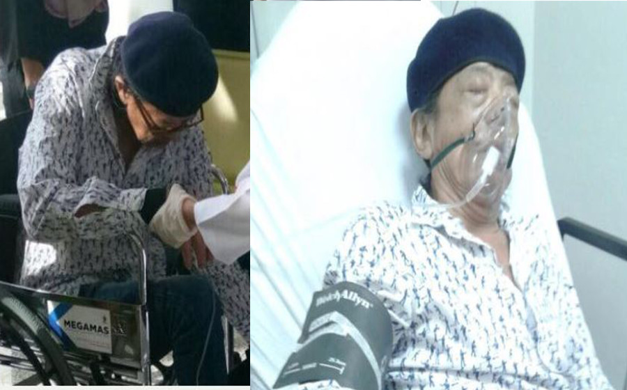 Masuk hospital di Brunei, isteri mohon doakan kesihatan Yazit