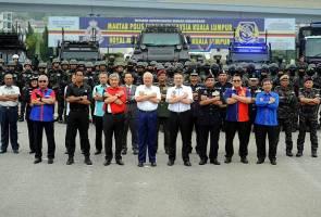 Najib, Zahid saksi latihan Ex Rimau