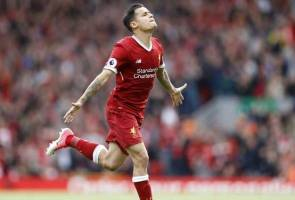Coutinho out of Liverpool squad to face Man City