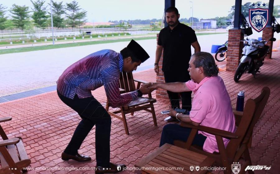 KJ menghadap Sultan Johor, jelas perkembangan Sukan SEA