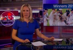 Petugas TV 'kantoi' layan video lucah semasa siaran berita