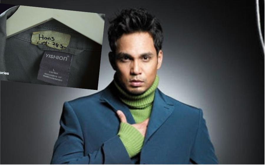 Hans Isaac jual jaket kesayangan semurah RM200!