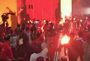 Chairs and flares 'fly', chaos breaks out at Nothing to Hide 2.0