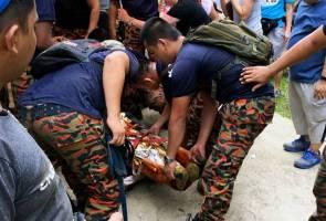 Lelaki maut ketika mendaki Gunung Nuang