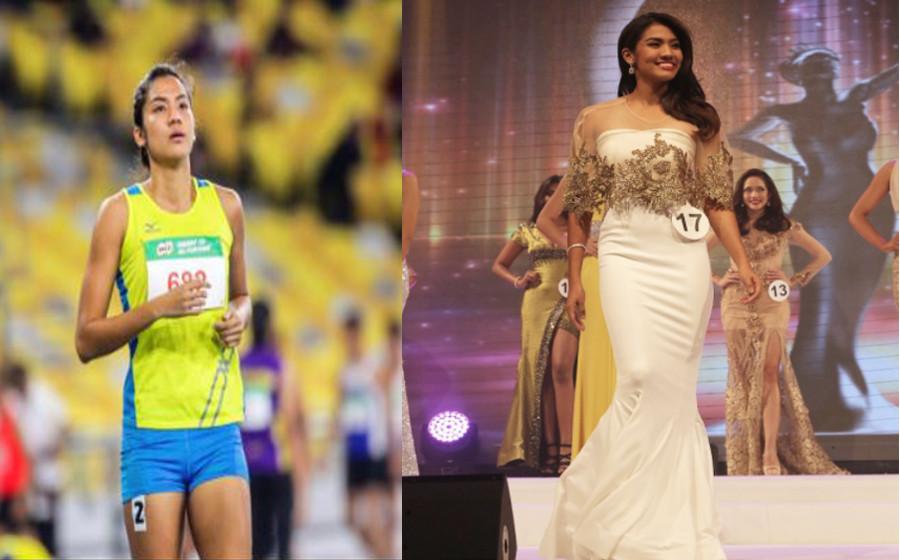 Atlet 4x400m Sukan SEA 2017 ini rupanya finalis ratu cantik Malaysia!