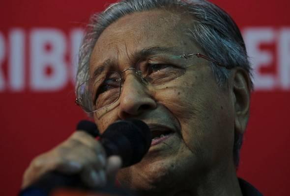 Pengerusi PPBM Tun Dr Mahathir Mohamad terbuka untuk mana-mana individu meninggalkan parti kerana tiada hasrat untuk menjatuhkan Najib.