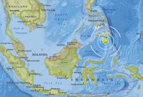 Gempa bumi 5.8 magnitud gegar Filipina