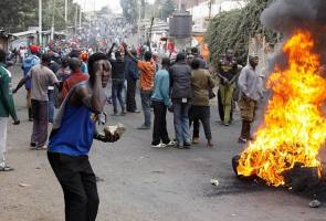 Eleven dead in Kenya as post-election riots flare