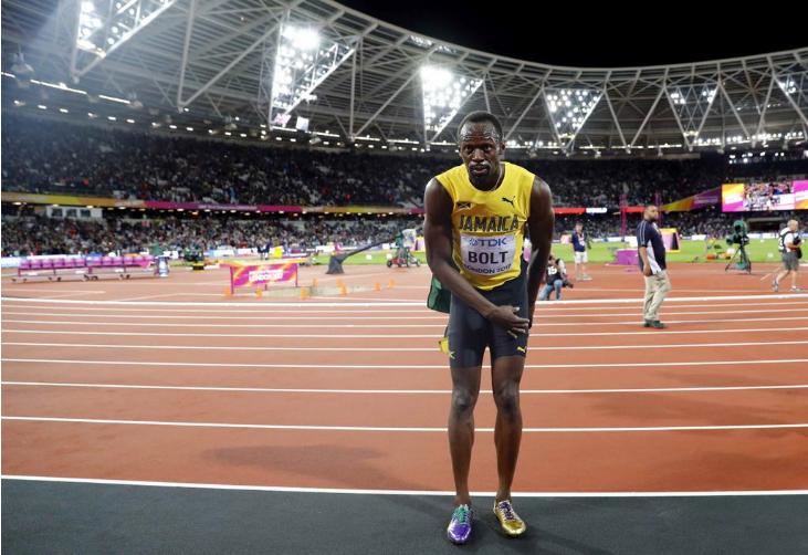 Nama Usain Bolt sentiasa akan terus disebut-sebut oleh orang ramai.