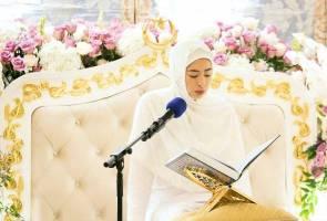Johor princess Tunku Tun Aminah completes khatam al-Quran