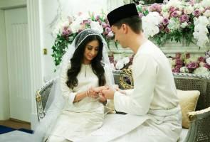 [LAPOR LANGSUNG] Perkahwinan Tunku Tun Aminah dan Dennis Muhammad Abdullah