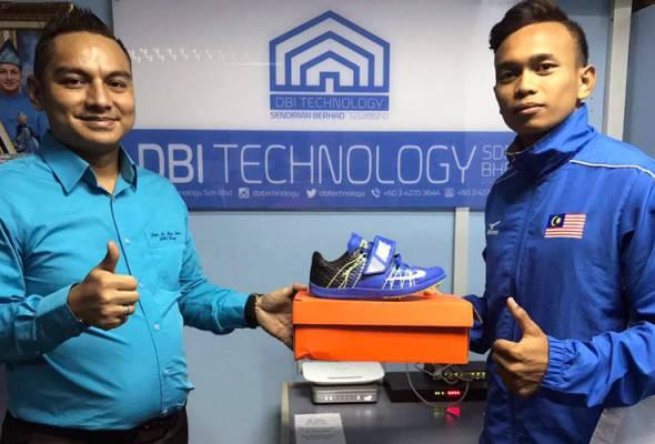 Kegigihan Nik Fariezal Erman Nik Abd Hadi berjaya melayakkan diri ke KL2017 telah menarik perhatian DBI Technology Sdn Bhd untuk menajanya.