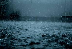 Ribut petir di Pantai Timur, Sabah dan Sarawak