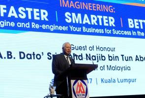 Najib: Being innovative, entrepreneurial is key to Malaysia's future