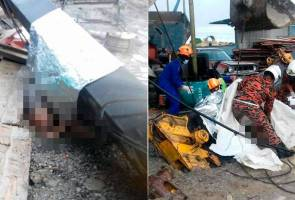 Tragedi pelantar kren tumbang: Syarikat berdepan tindakan jika terbukti cuai - Fadillah