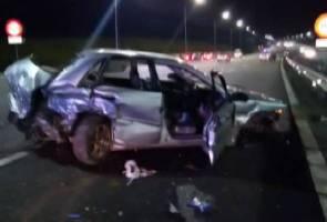 Dua anggota tentera maut dalam kemalangan di Seremban