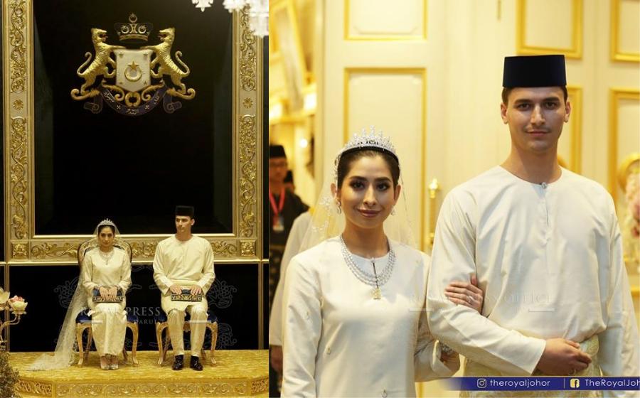 Sekitar Istiadat Persandingan DiRaja Tunku Tun Aminah dan Dennis Abdullah