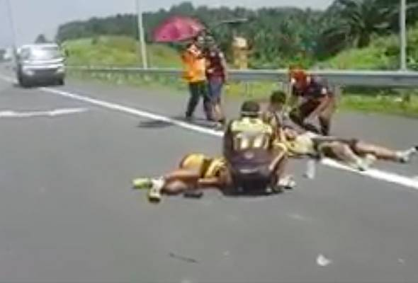 Initial investigations revealed that two visually impaired athletes were involved in the accident on LATAR highway.