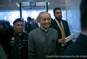 Dr Mahathir merely DAP's instrument to split Malay voters - Salleh