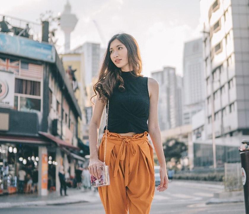 Bukan sahaja cemerlang dalam bidang pendidikan, Phoebe juga mahu cemerlang dalam dunia modelling dan keusahawanan. - Instagram @phoebeshafinaz