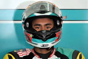 Hafizh Syahrin finishes third in San Marino GP