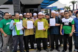 PAS lodges police reports against Siti Kasim, David Orok