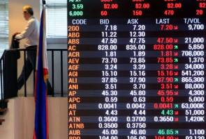 Philippines rises to record close, Thailand to 24-yr top
