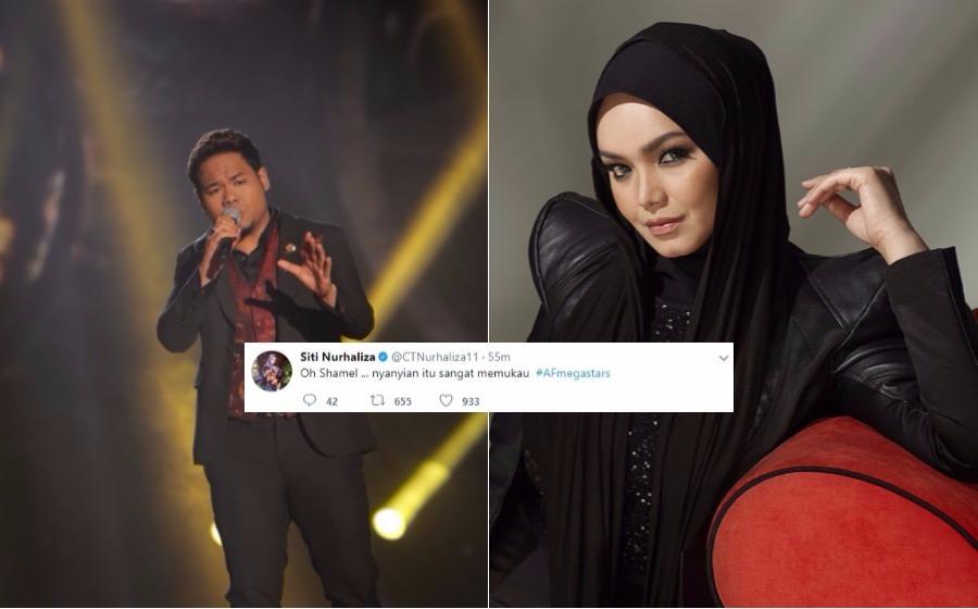 Oh Syamel, nyanyian itu sangat memukau - Datuk Siti Nurhaliza