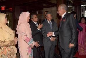 Najib arrives in U.S. ahead of meeting with Trump