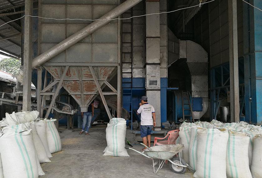 Mesin pengeringan berupaya mengeringkan 30 tan padi dalam tempoh masa 10 jam. - Foto Karim Raslan