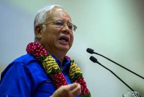PM Najib hits out at opposition leaders for instilling hatred towards govt