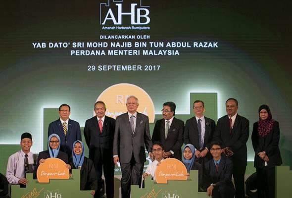 PM launches additional 500 mln units of Amanah Hartanah Bumiputera