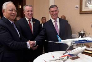 Boeing, Malaysia Airlines meterai MoU untuk beli 16 pesawat
