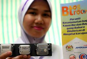 New safety device for mothers, newborns at Banting Hospital