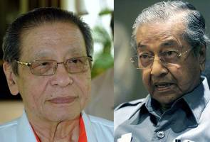 GE14: Tun M has no wish to contest, unlike Kit Siang