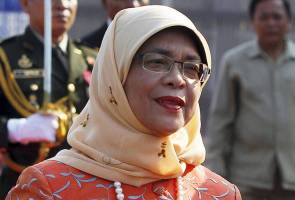 Halimah Yacob formally elected Singapore's first woman president