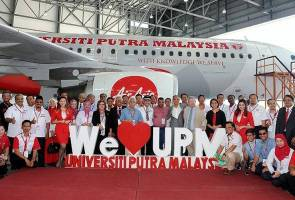 AirAsia unveils UPM livery on its aircraft