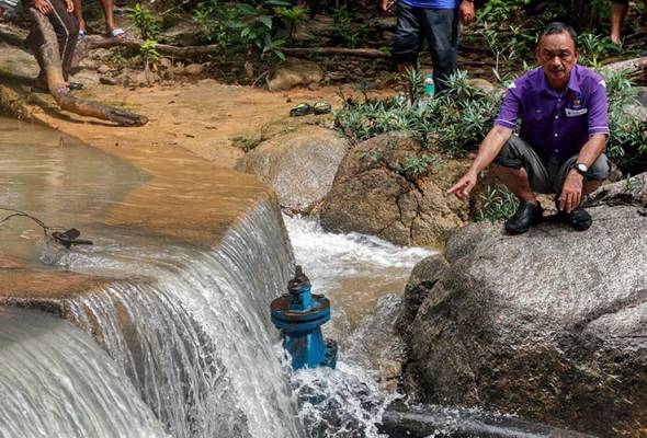 Penduduk DUN Gaal guna air tandak berlumpur sejak 20 tahun lalu