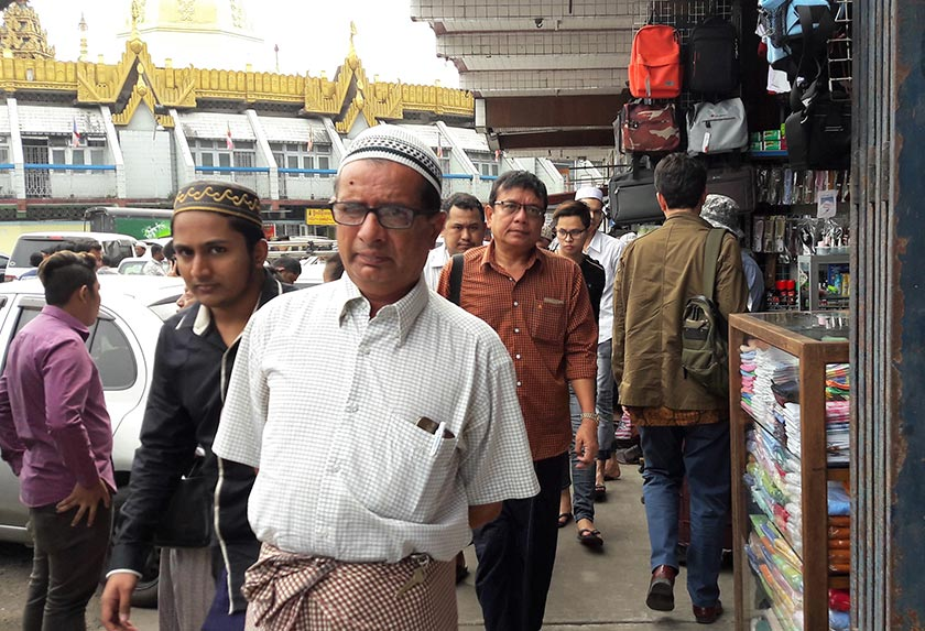 Official figures state that the Muslim minority in Myanmar represents only 3-4pc of the population. Karim Raslan Photo