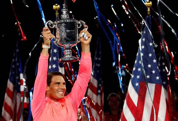 Rafael Nadal juarai kejohanan tenis Terbuka AS