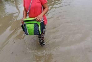 Empat rumah dinaiki air akibat banjir kilat di Ampang