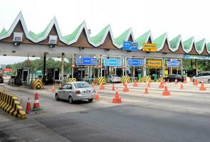No top-up lanes at PLUS highways from Oct 17-19