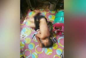 Budak dirantai di tong gas: Bapa tiri dibebaskan