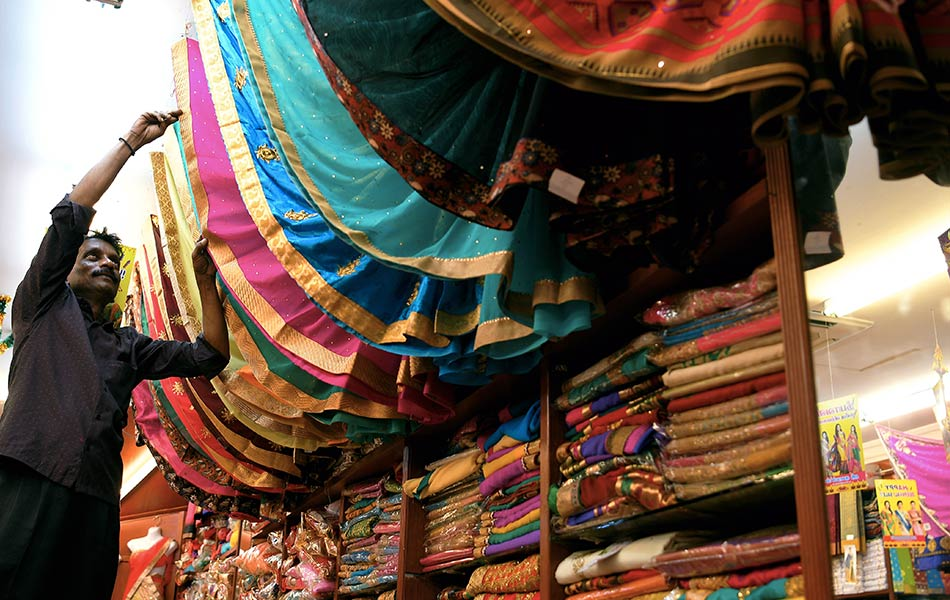 persiapan, perayaan, India, Deepavali,