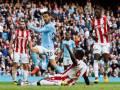 Manchester City thrash Stoke 7-2