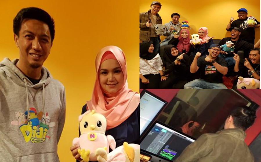 Siti Nurhaliza nyanyi lagu Didi & Friends pun sedap...
