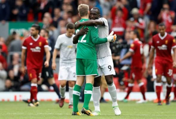 Liverpool belum pernah menang lawan Manchester United
